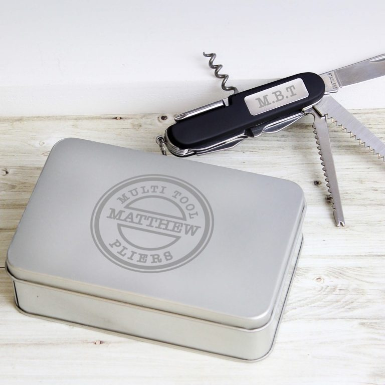 Personalised Army Pen Knife and Box Set