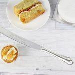 Personalised Heart & Swirl Cake Knife
