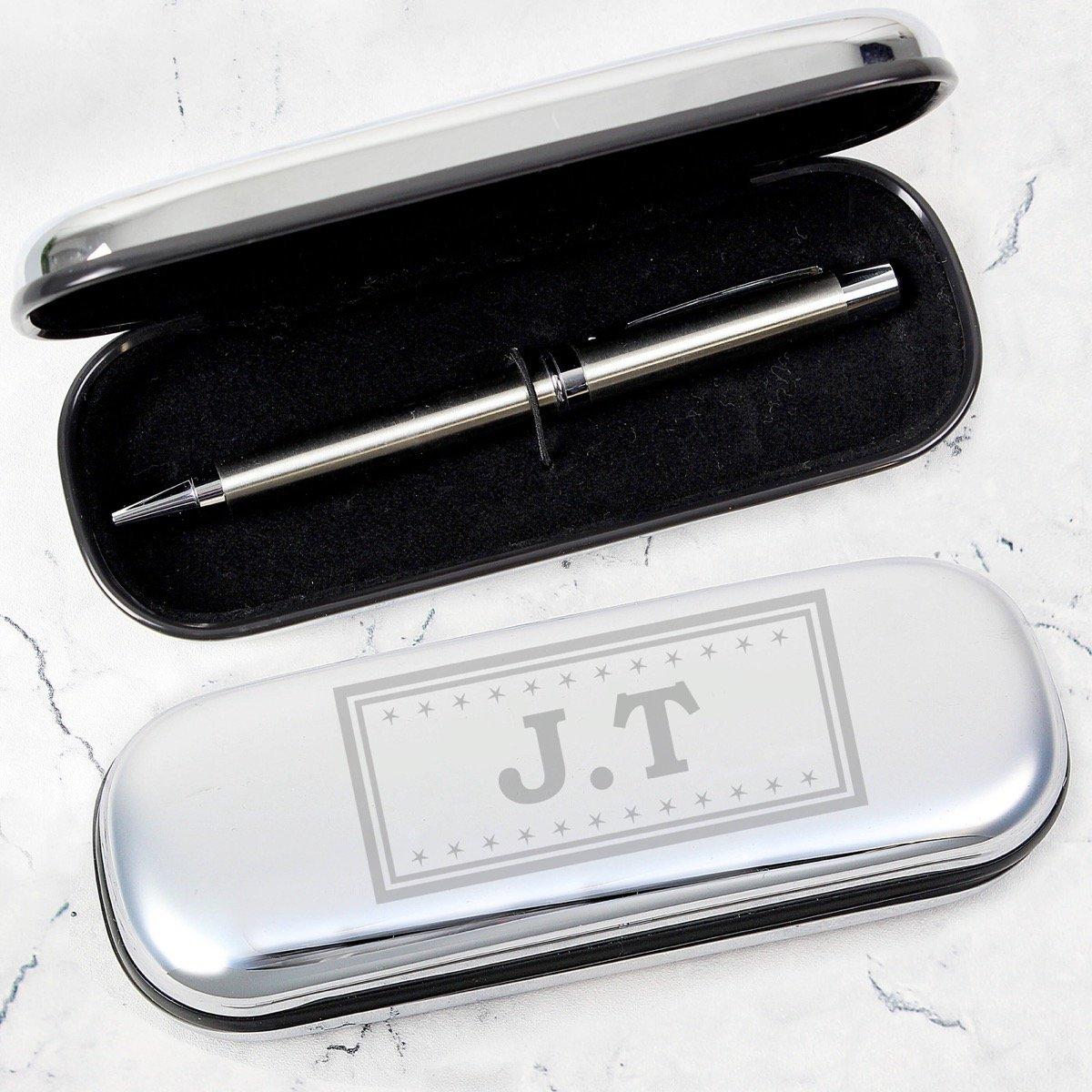 Personalised Monogram Pen and Box Set