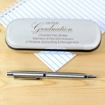 Personalised Graduation Pen and Box Set