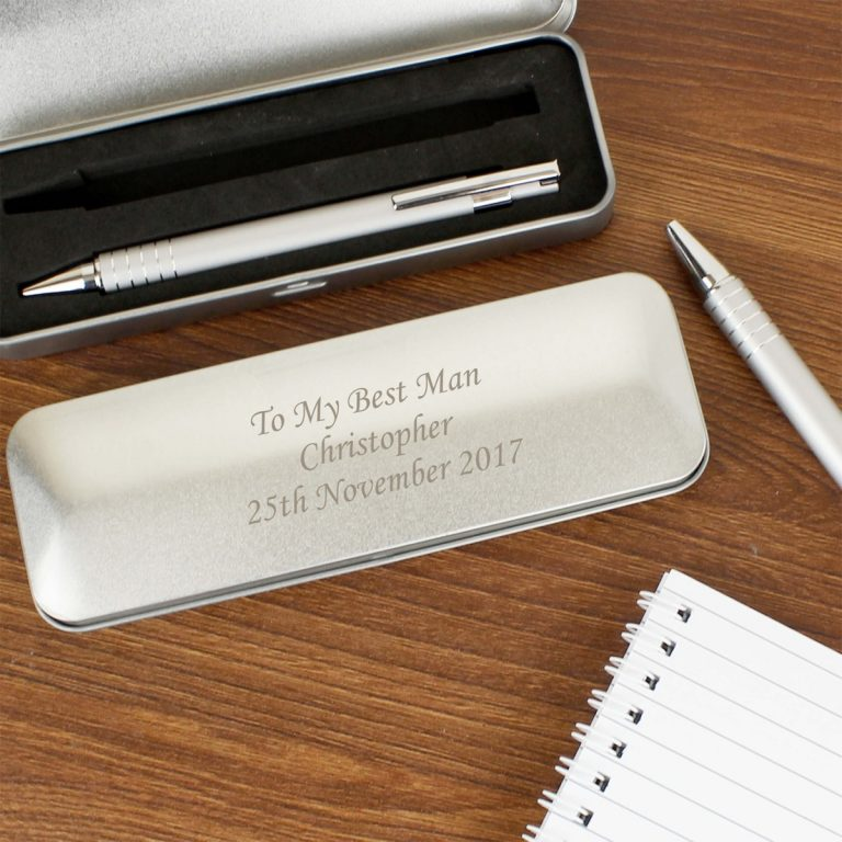 Personalised 2 Pen Box Set