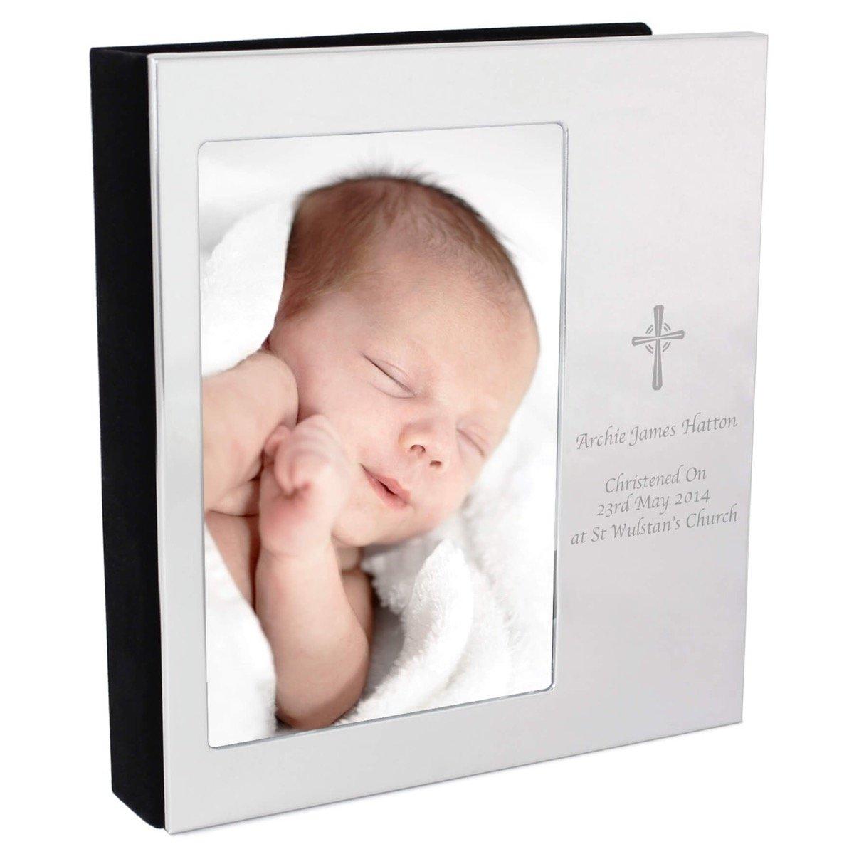 Personalised Cross 6×4 Photo Frame Album