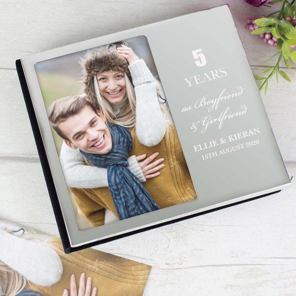 Personalised Anniversary 6×4 Photo Frame Album