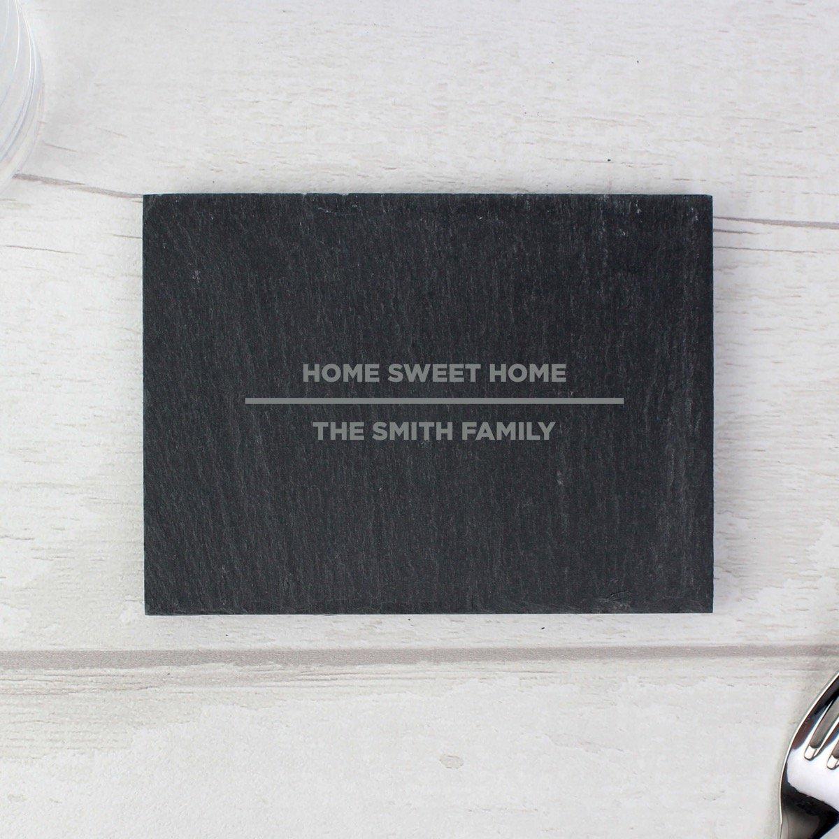 Personalised Classic Single Slate Coaster