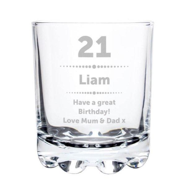 Personalised Birthday Star Tumbler