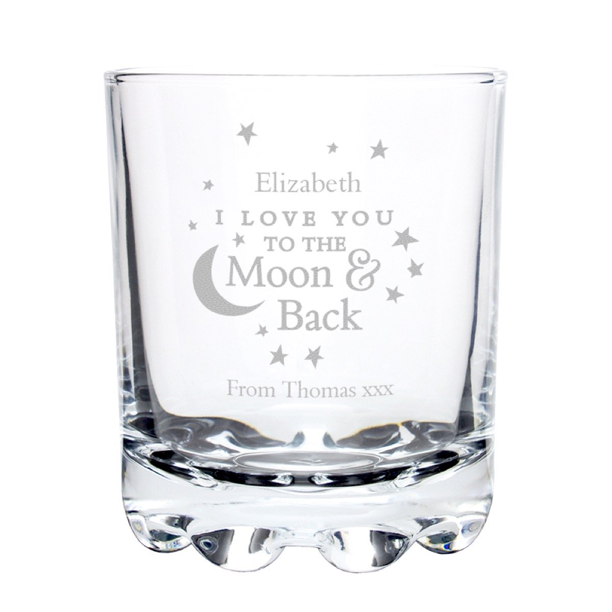 Personalised To the Moon and Back… Tumbler