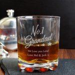 Personalised No.1 Grandad Tumbler