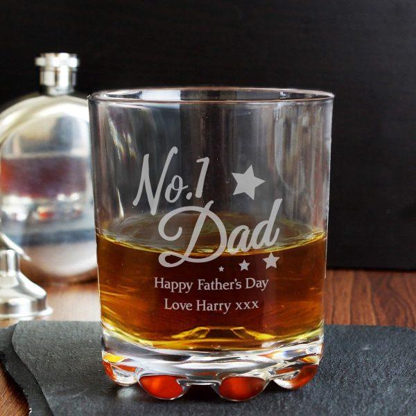 Personalised No.1 Dad Tumbler