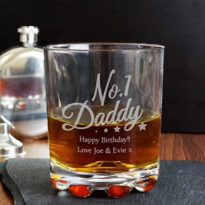 Personalised No.1 Daddy Tumbler