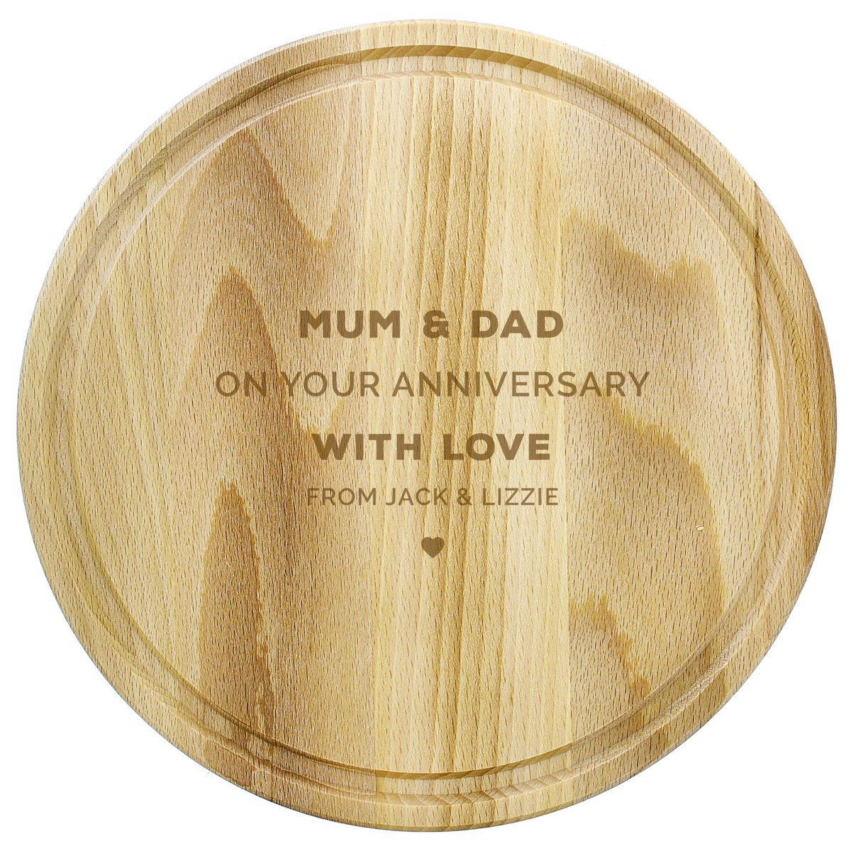 Personalised Round Chopping Board