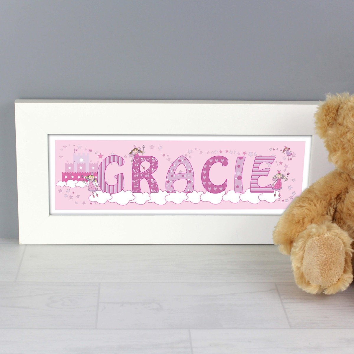 Personalised Little Princess Name Frame