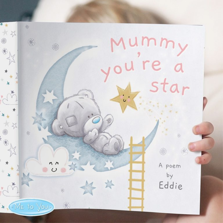 Personalised Tiny Tatty Teddy Mummy You're A Star Book