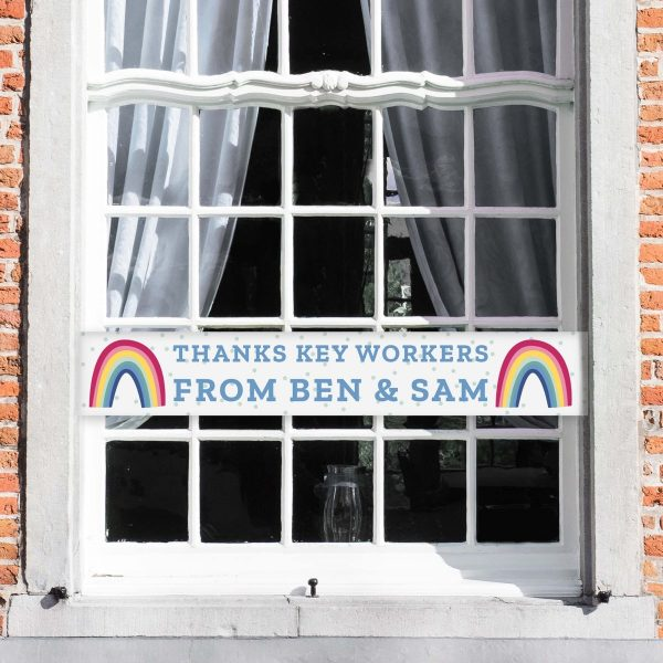 Personalised Rainbow Banner