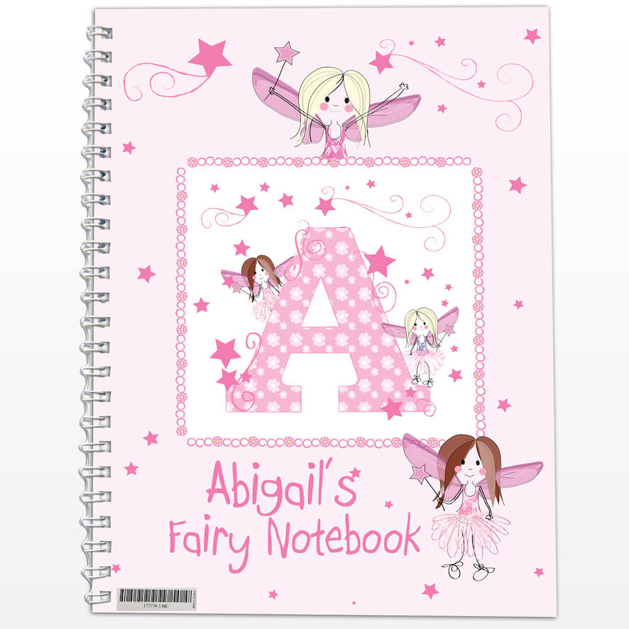 Personalised Fairy – A5 Notebook