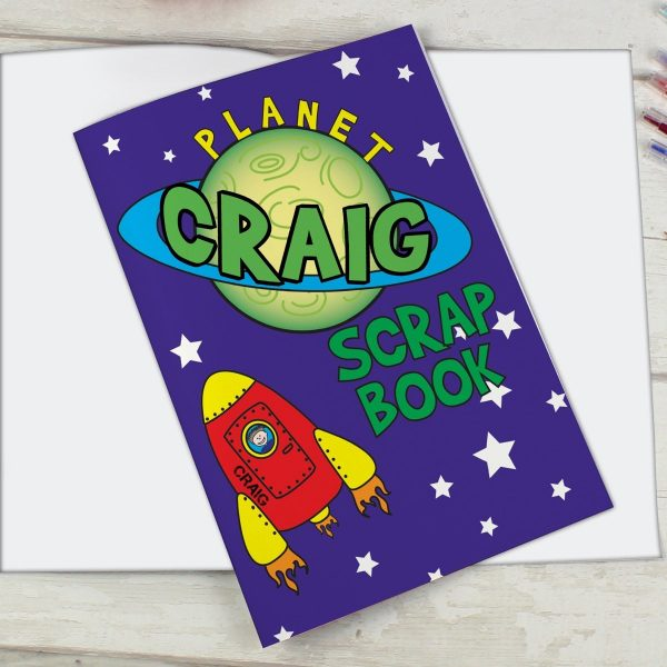 Personalised Space – A4 Scrapbook