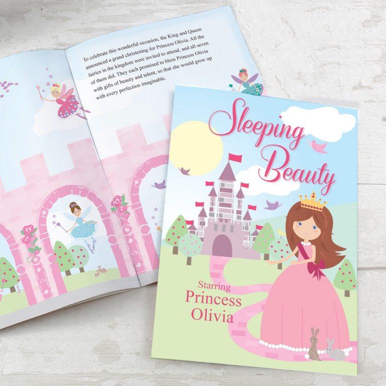 Personalised Sleeping Beauty Story Book