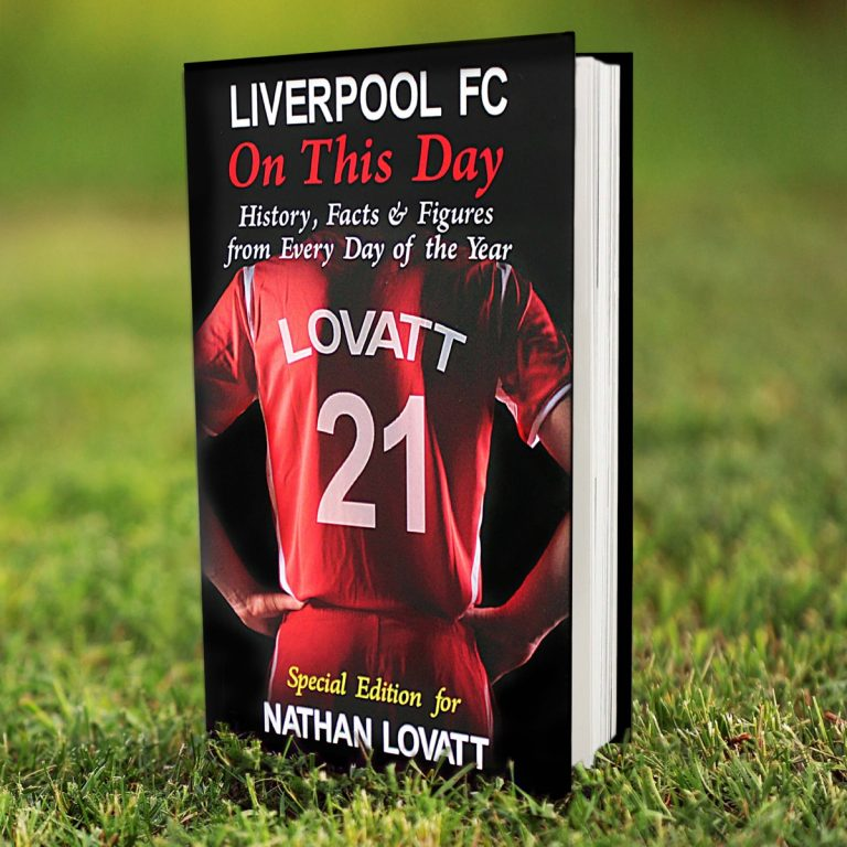Personalised Liverpool FC on this Day Book