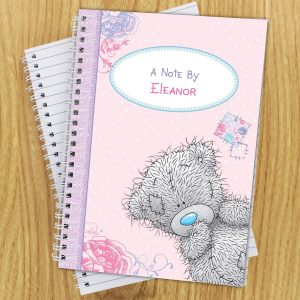 Personalised Me To You Girls A5 Notebook