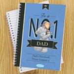 Personalised Me to You No1 Paperback A5 Notebook