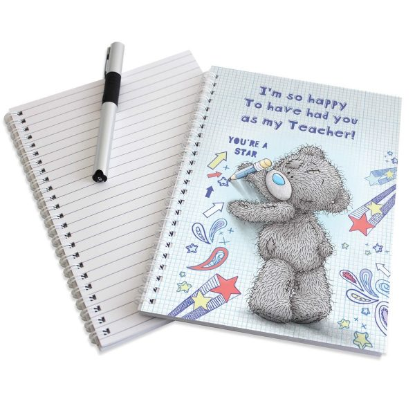 Personalised Me to You Teacher A5 Notebook