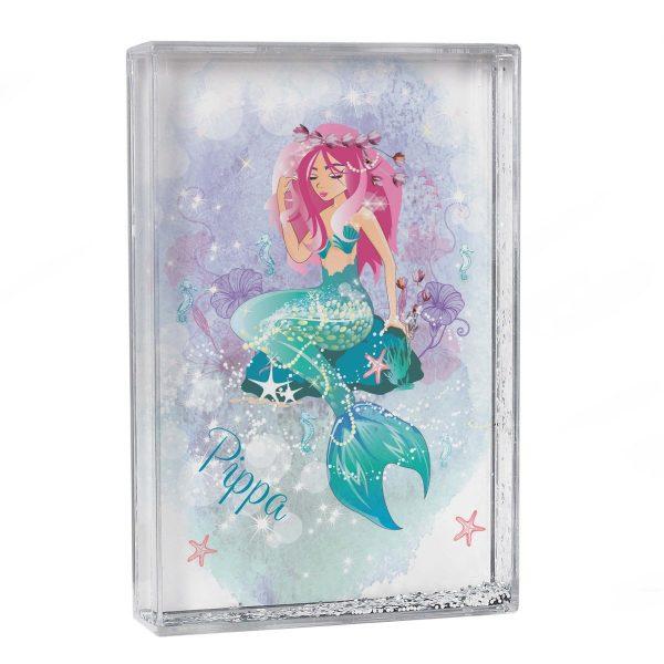 Personalised Mermaid Glitter Shaker