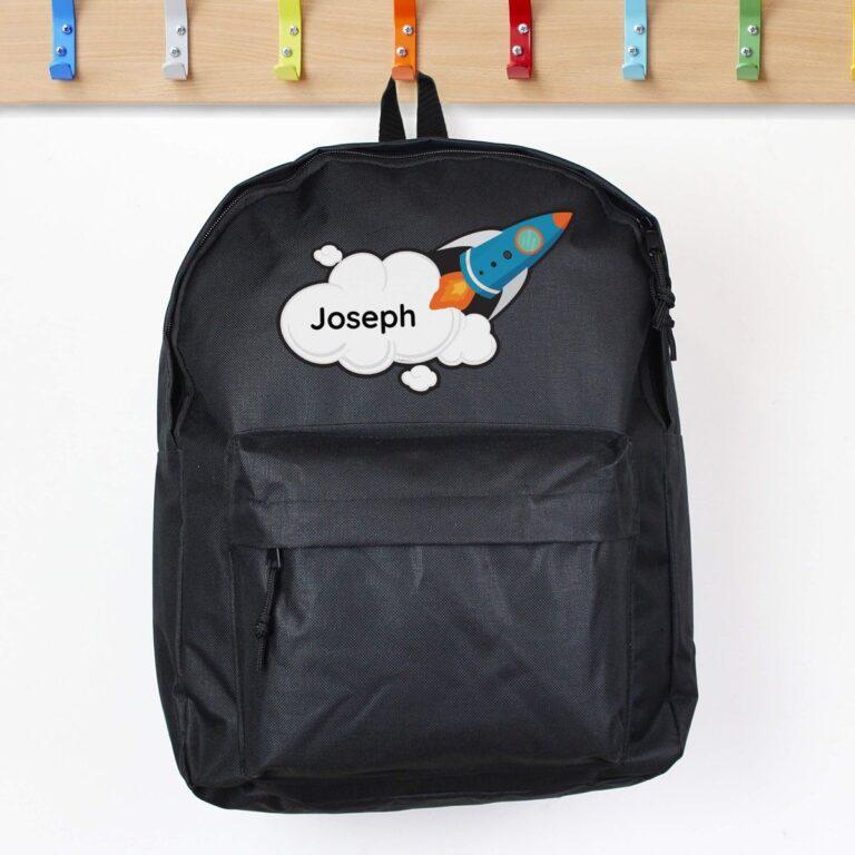 Personalised Rocket Backpack