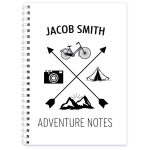 Personalised Adventure A5 Notebook