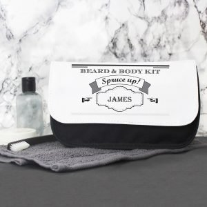 Personalised Spruce Up Men's Wash Bag