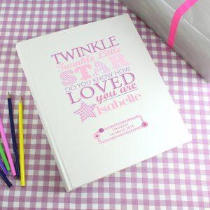 Personalised Twinkle Girls Traditional Album