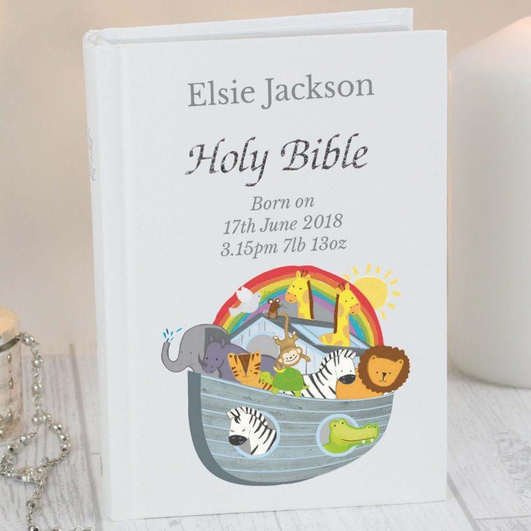 Personalised Noah's Ark Bible