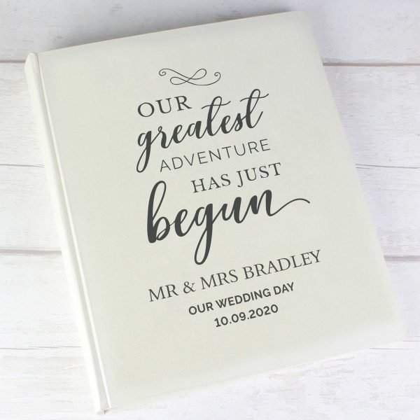 Personalised Our Greatest Adventure Traditional Album