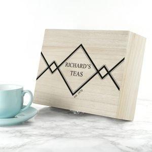 Personalised Tea Box – Gentleman's Teas