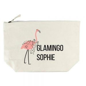 Personalised Wash Bag – Glamingo