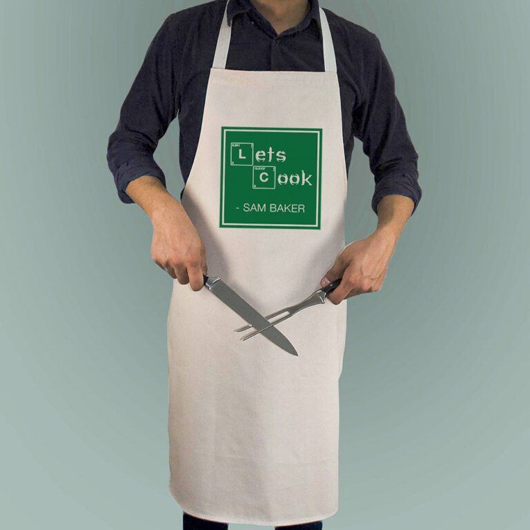 Personalised Apron – Let's Cook