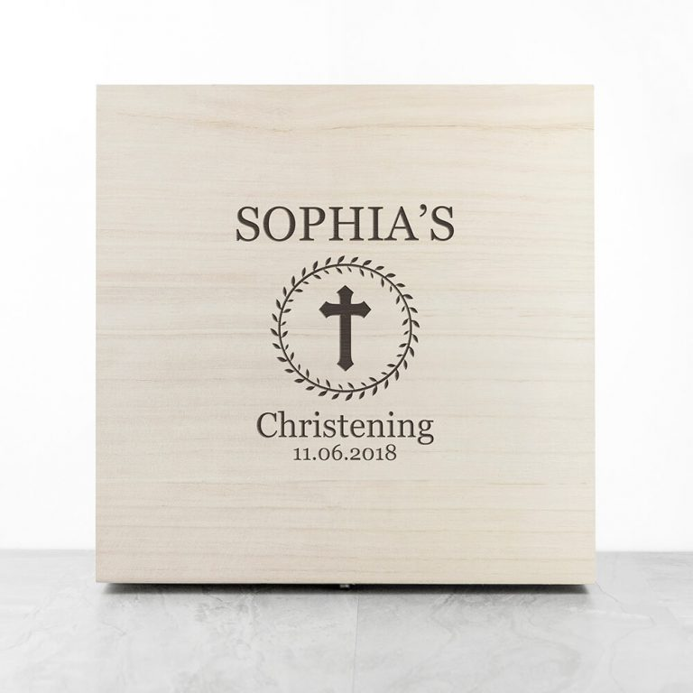 Personalised Memory Box – Christening