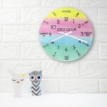 Personalised Wall Clock – Tell the Time!