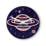 Personalised Wall Clock – Out of this World