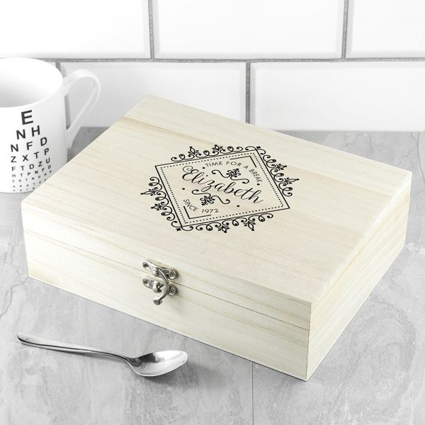 Personalised Tea Box – Time for a Break