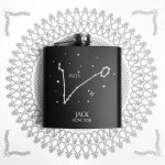 Personalised Hip Flask – Star Constellation