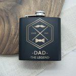 Personalised Hip Flask – Legend