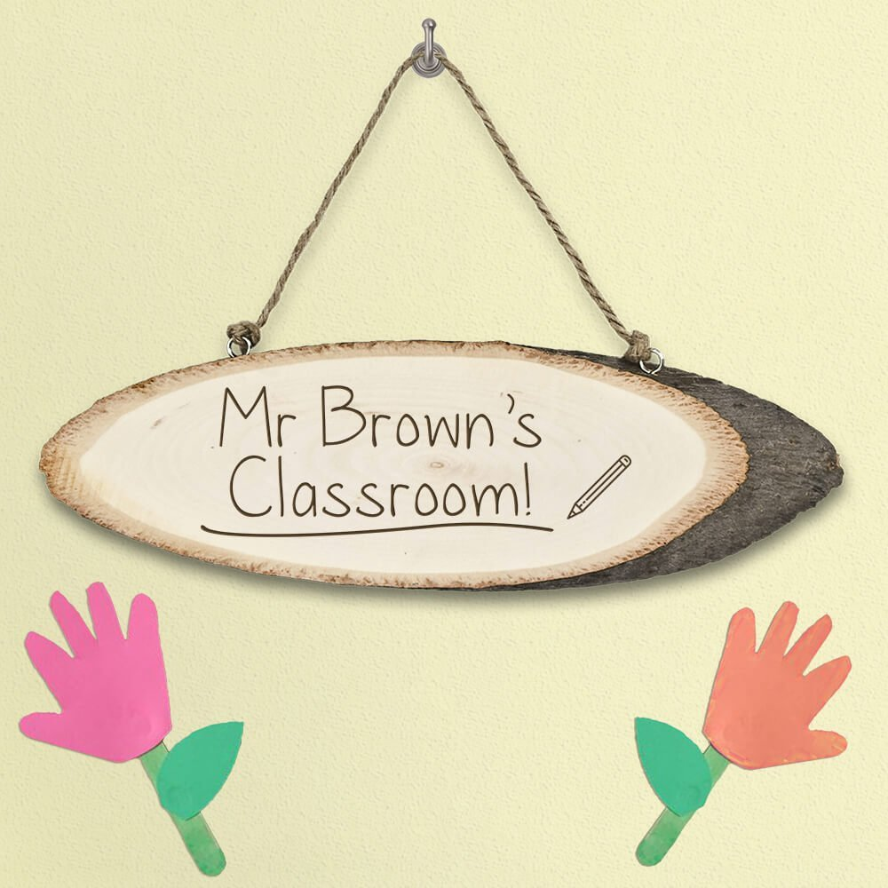 Personalised Wooden Sign – Teacher
