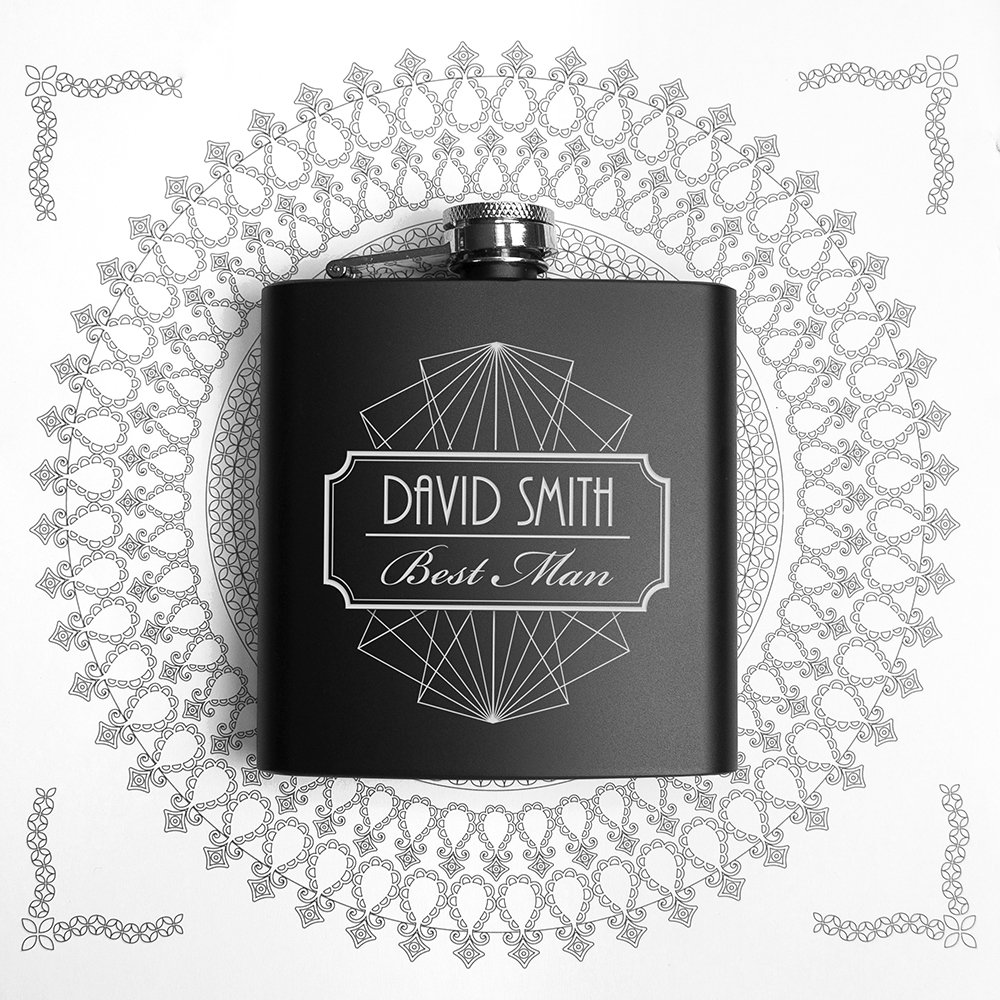 Personalised Hip Flask – Best Man