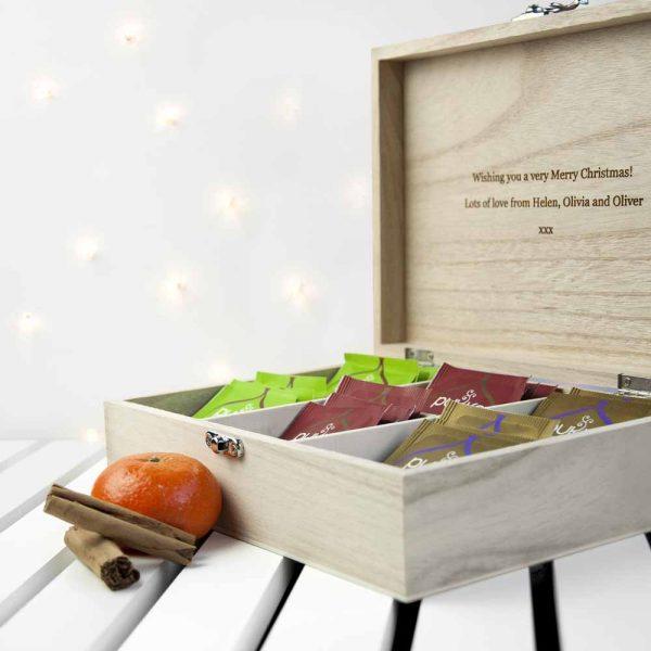 Personalised Tea Box – Christmas Tea