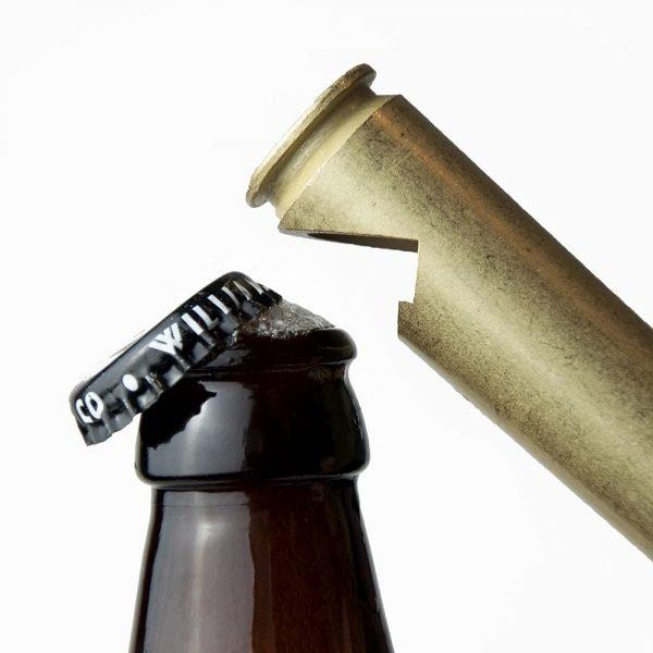 Personalised 50 Calibre Bullet Shell Beer Opener