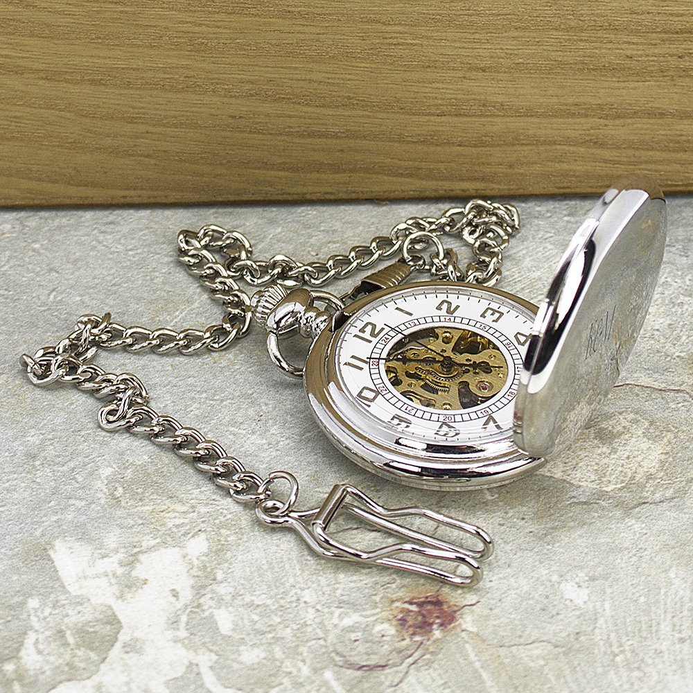 Personalised Pocket Watch – Your Message