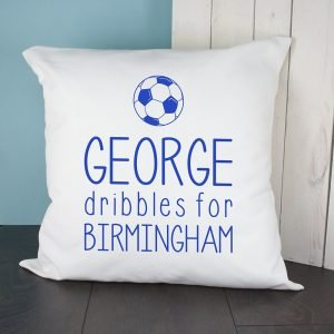 Personalised Cushion Cover – Football Club