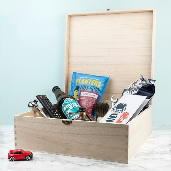 Personalised Gift Box – New Dad Survival Kit