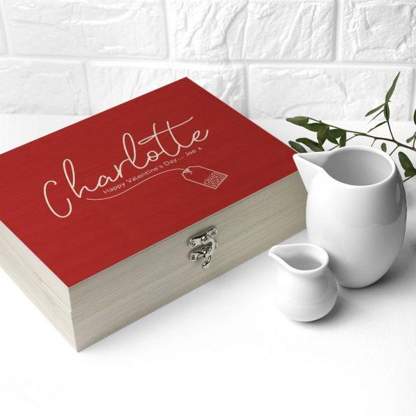 Personalised Tea Box – Cu-Tea