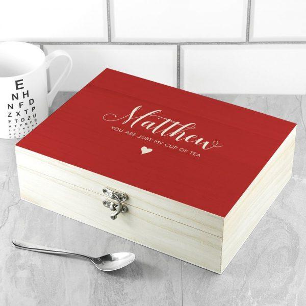 Personalised Tea Box – Name & Message