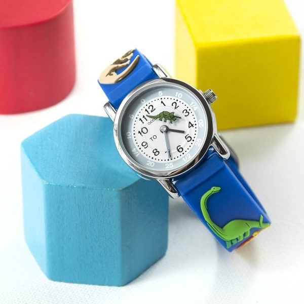 Personalised Kids Dinosaur Watch – Your Message